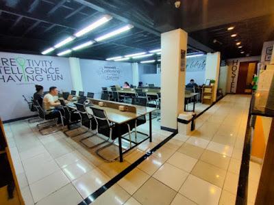 Nomad's Hub Co-working Space in Cebu