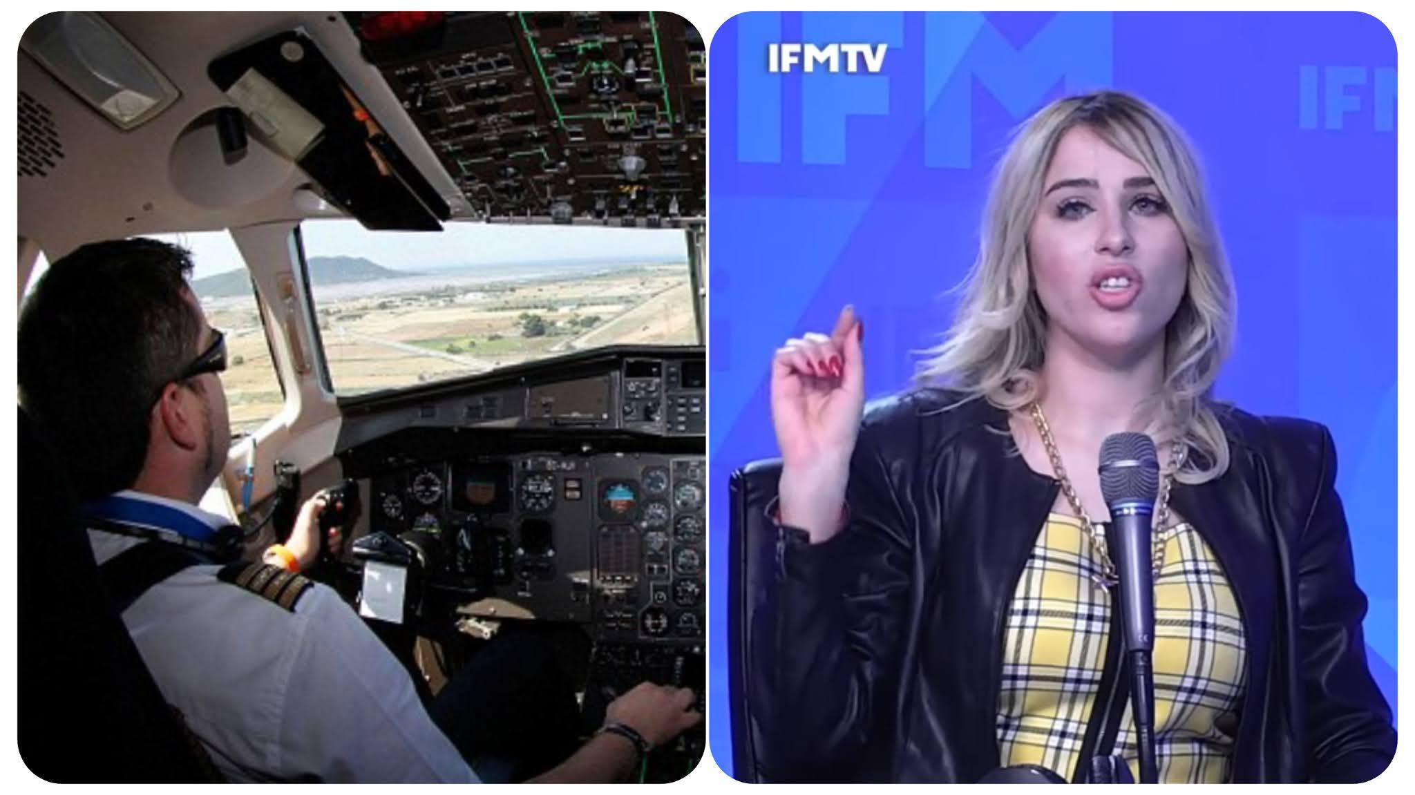 """بالفيديو نرمين صفر : خطيبي كان """"pilote""""  و بطلت منو على خاطر ماهوش من مستوى متاعي؟"""