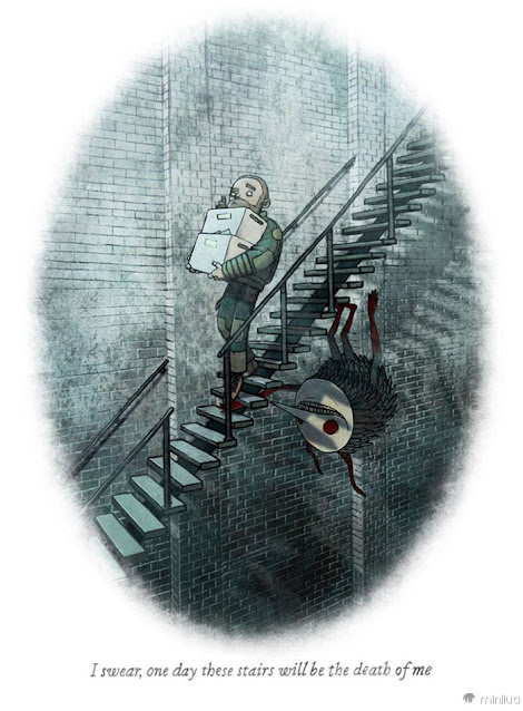 Behind You: One-Shot Horror Stories, por Brian Coldrick