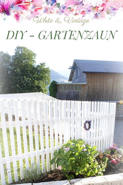 DIY-Projekt Gartenzaun
