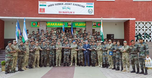 INDO-UZBEKISTAN FIELD TRAINING EXERCISE 'DUSTLIK'