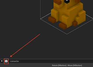 Image Export option in MagicaVoxel