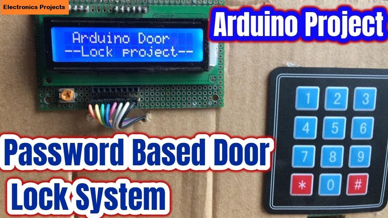 Digital Keypad Security Door Lock