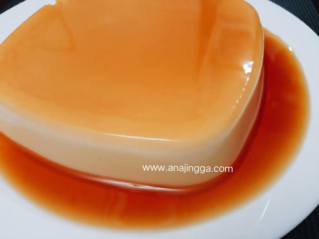 Agar Agar Karamel Tanpa Telur