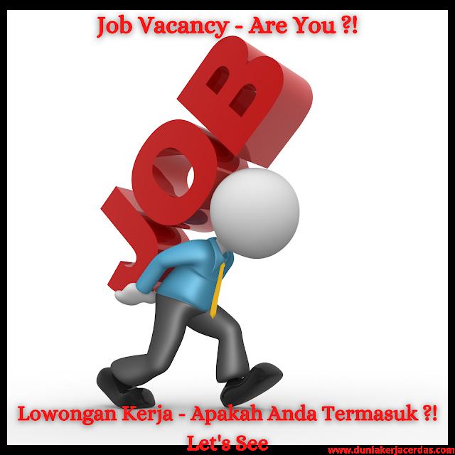 Job Vacancy Update
