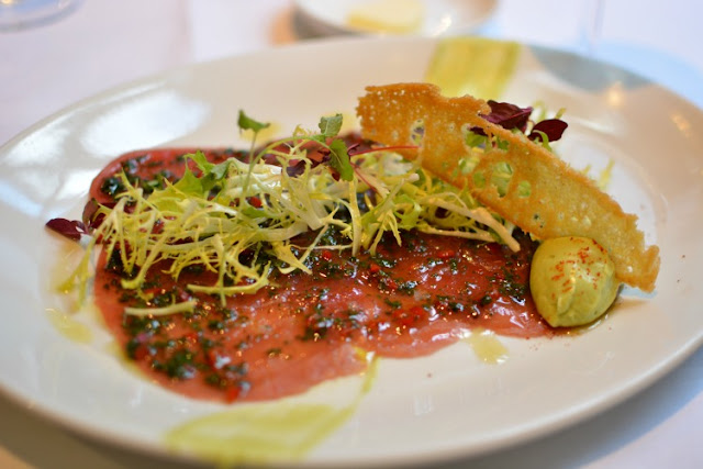 brasserie gustave tuna carpaccio london