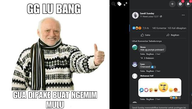 meme gg lu bang