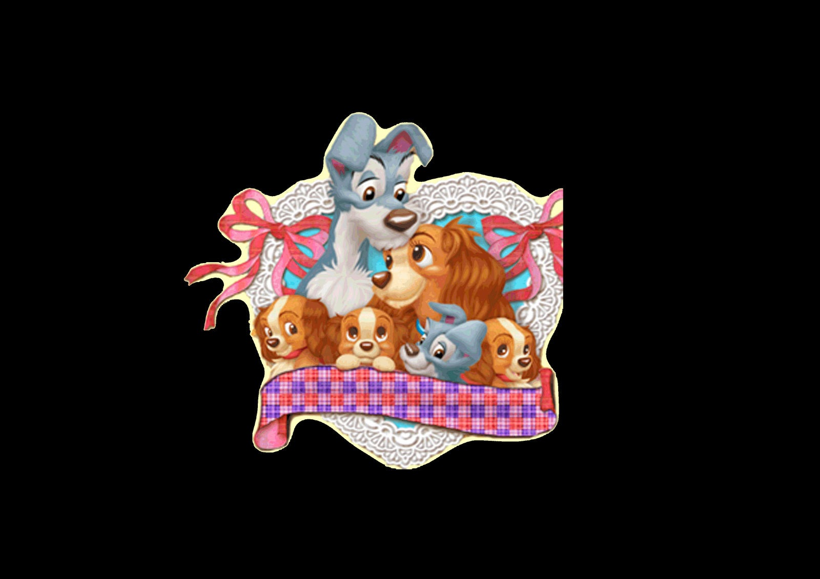 The Lady and the Tramp Images.