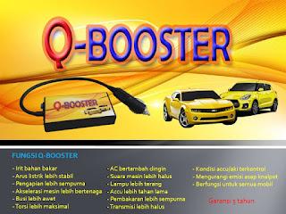 Q-BOOSTER (Penghemat Mobil Colok)