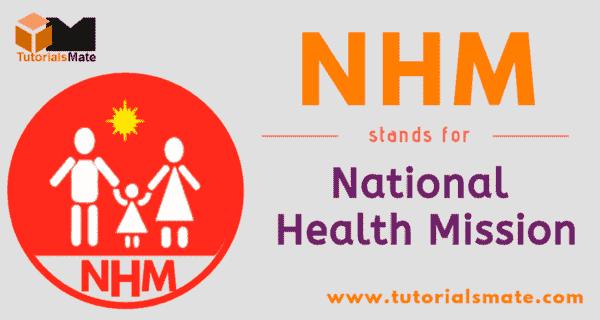 NHM Full Form