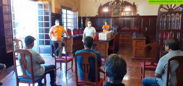El Ayuntamiento de Los Llanos de Aridane contrata a 13 desempleados para el mantenimiento de las zonas rurales