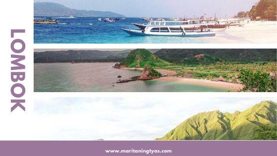 destinasi wisata traveling impian lombok