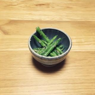 インゲン豆 三度豆 塩麹和え