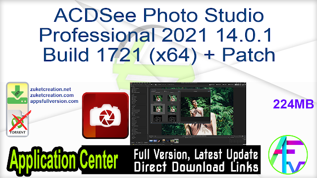 ACDSee Photo Studio Professional 2021 14.0.1 Build 1721 (x64) + Patch
