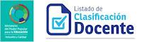 Listado de Clasificación Docente MPPE Mes Octubre 2016 (TODOS LOS ESTADOS)
