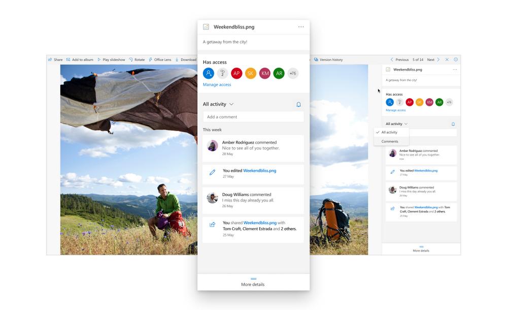 Nuove funzionalità disponibili in OneDrive