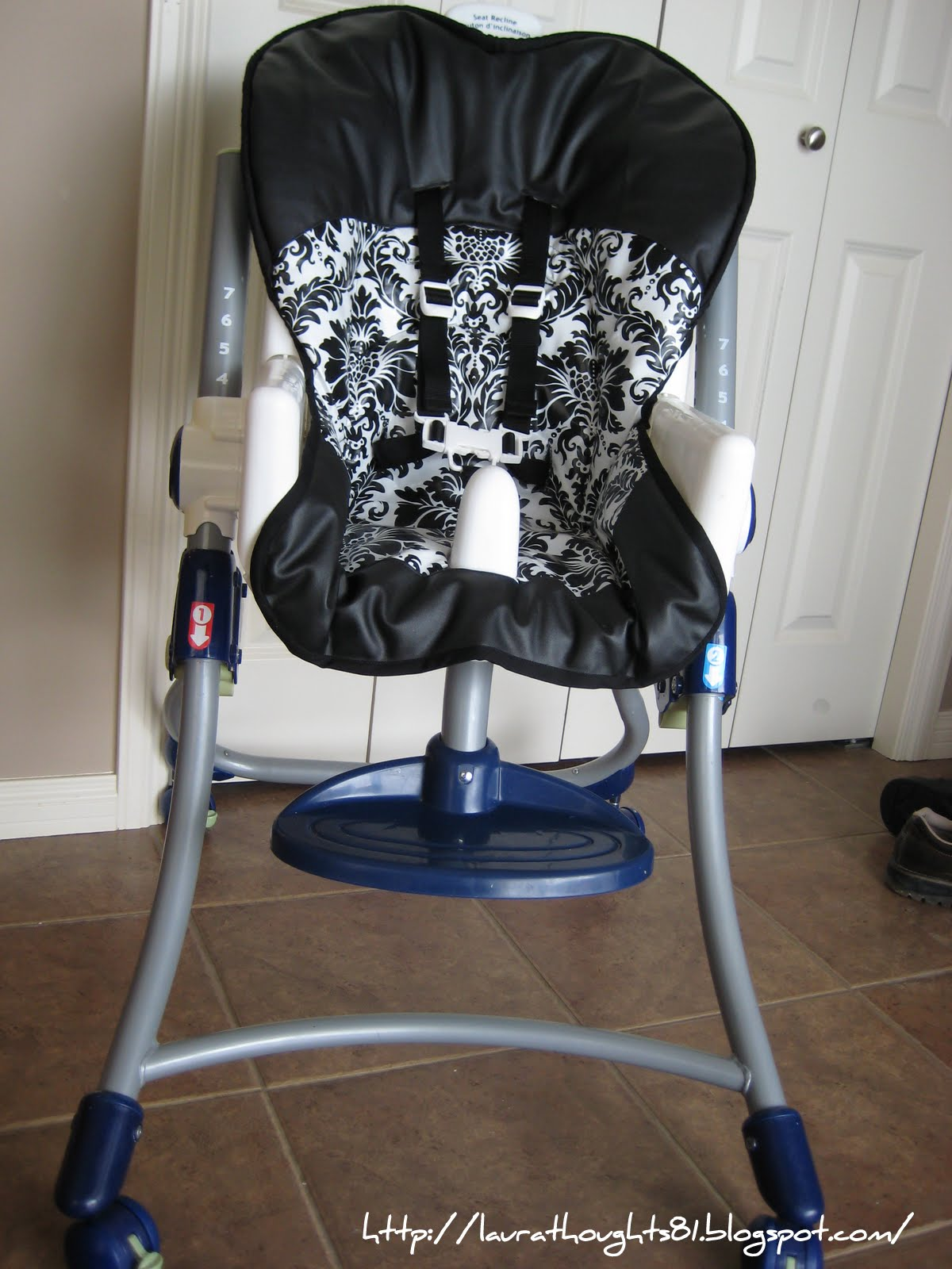 High Chair Covers Laura Thoughts High Chair Re Cover
