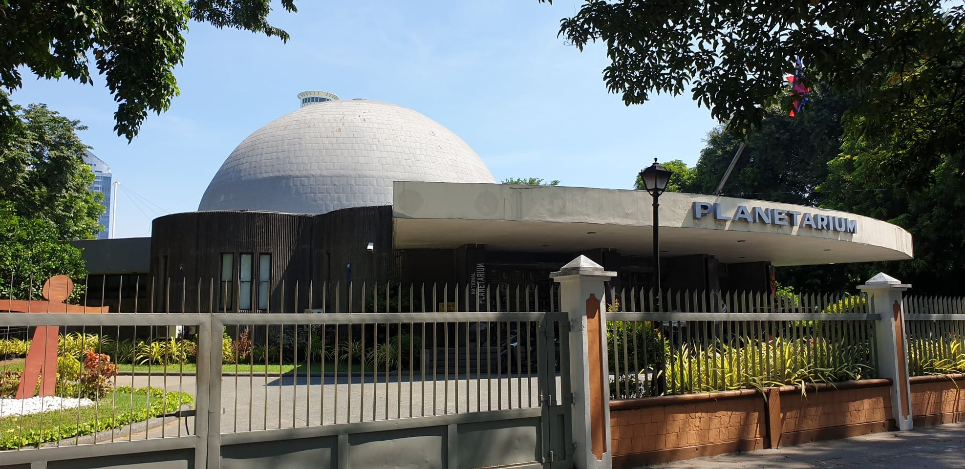 Old National Planetarium in Manila