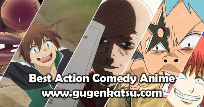 anime action comedy terbaik
