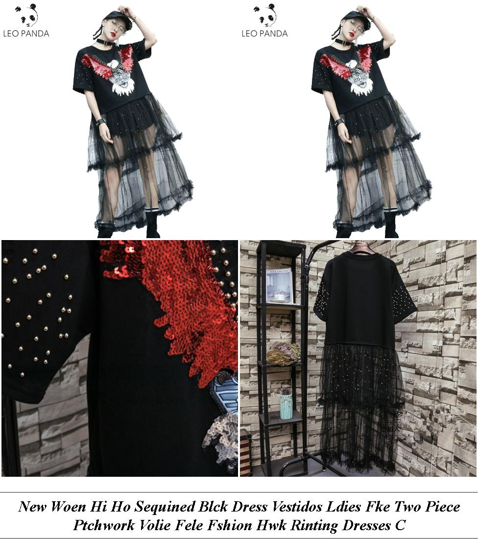 Cocktail Dresses For Women - Womens Clothes Sale Uk - Sweater Dress - Cheap Clothes