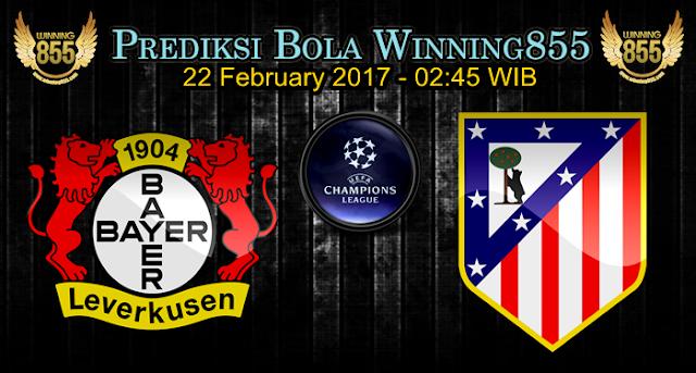 Prediksi Skor Bayer Leverkusen vs Atletico Madrid