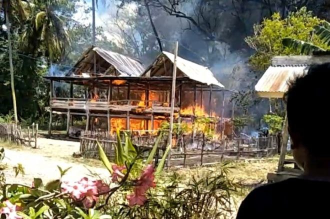 Kebakaran, Rumah Warga di Cabalu Bone Ludes