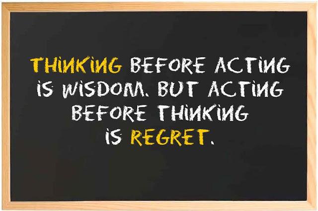 Berpikir dan Bertindak
