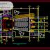 مخطط مشروع مسرح كبير اوتوكاد dwg
