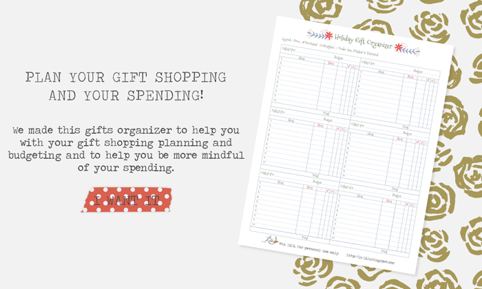 shopping, buying planning and budgeting, lists, gift ideas