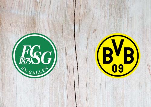 St. Gallen vs Borussia Dortmund -Highlights 30 July 2019