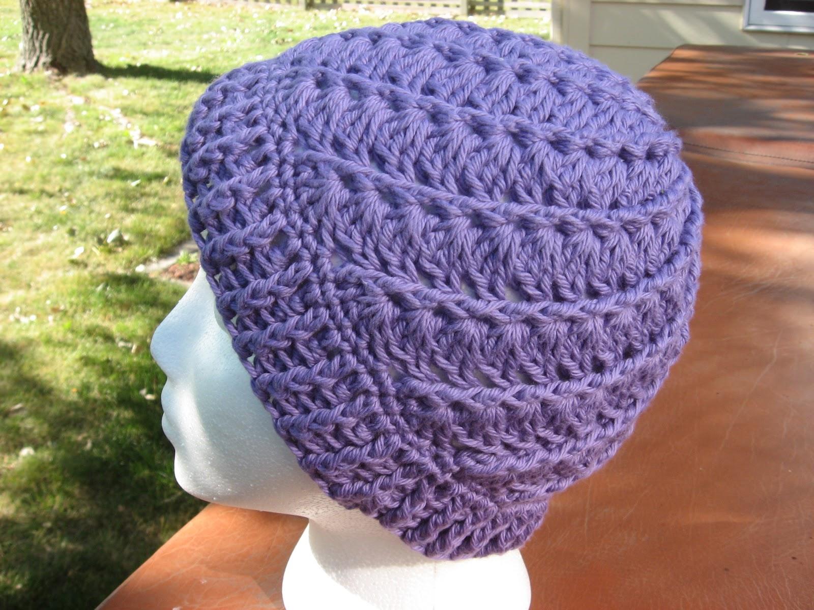 Crochet Projects  Chemo Hats Set  2 2c011f50f83