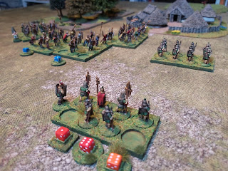 The beating from the Gauls is too much and the centurion flees!