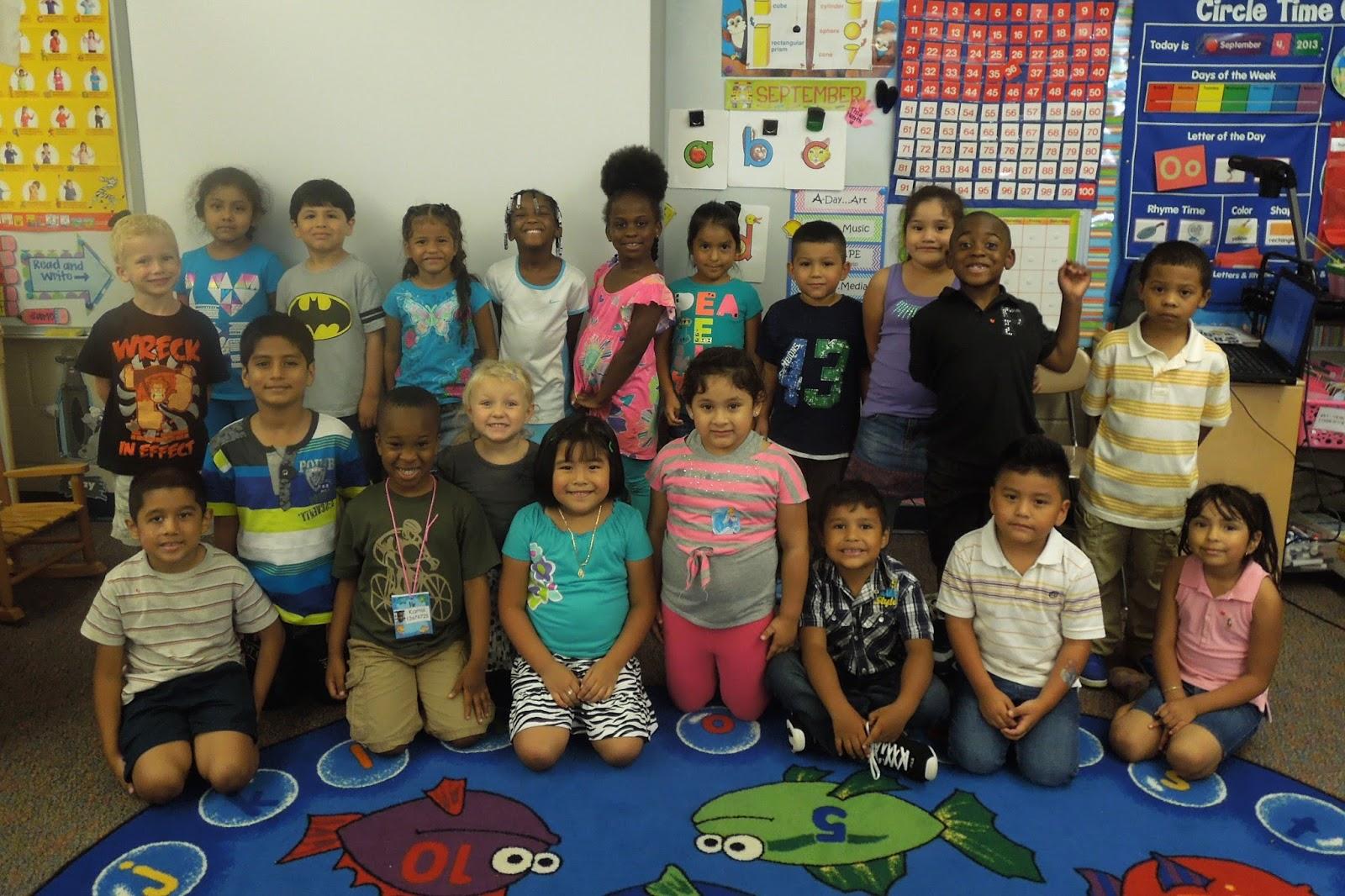 Kindergarten Classroom: Miss Jones' Kindergarten Class: Introducing