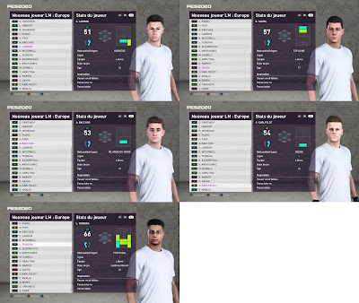PES 2020 Faces ML Youthpack by TiiToo