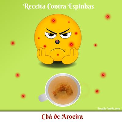 Receita Contra Espinhas: Chá de Aroeira