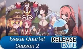 Thức tỉnh ở thế giới khác Phần 2  Isekai Quartet SS2