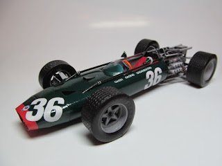 BRM P83 H16 - Mike Spence Monza Italian GP 1967 Forum Team