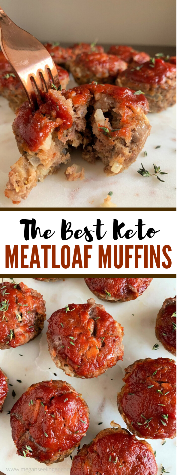 The Best Keto Meatloaf Minis With Low Carb Ketchup #healthy #diet
