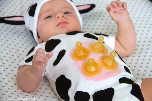 Disfraz vaca bebe