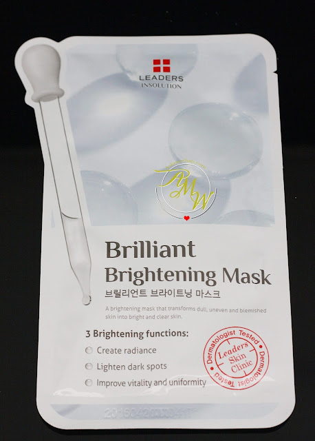a photo of leaders insolution Brilliant Brightening Mask