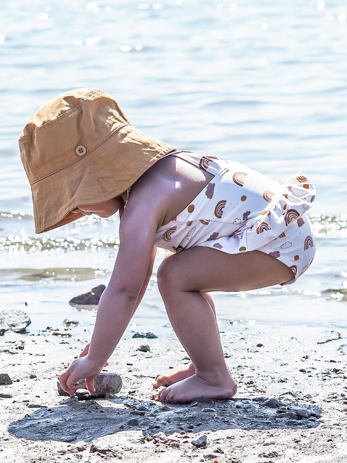 Uskallatko lähteä rannalle yksin lasten kanssa?