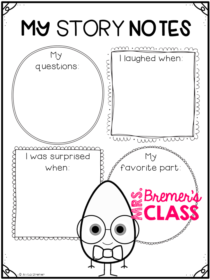 Mrs. Bremer's Class: The Good Egg