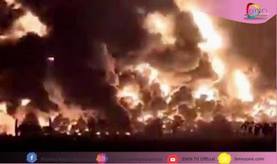 PT Pertamina,berita kebakaran,kebakaran, kebakaran kilung minyak,minyak,kilung minyak,BPBD Indramayu,Damkar,damkar Indramayu