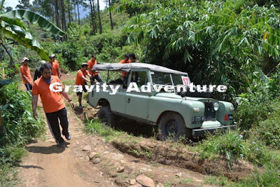 Tempat Offroad di Lembang Bandung Gravity Adventure