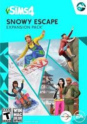 โหลดเกมส์ [Pc] The Sims 4 Snowy Escape | เมืองหนาวสไตล์ญี่ปุ่น เดอะซิมส์ 4