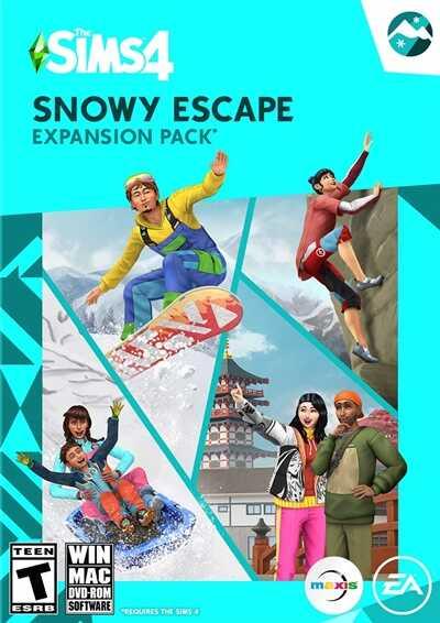 โหลดเกมส์ [Pc] The Sims 4 Snowy Escape   เมืองหนาวสไตล์ญี่ปุ่น เดอะซิมส์ 4