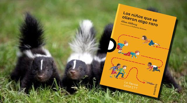 Los niños que olieron algo raro, un libro de Loqueleo