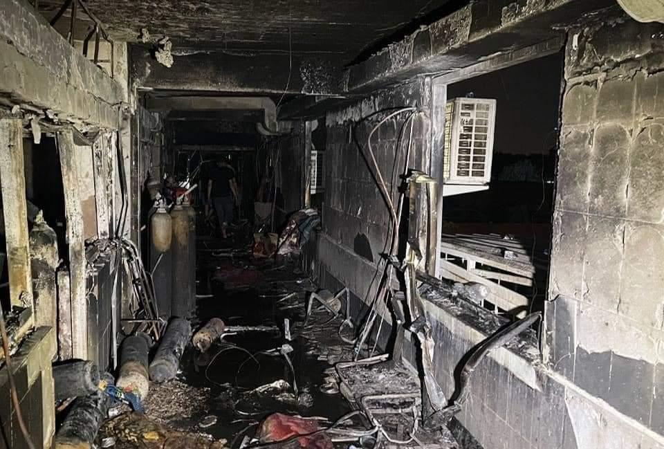 الصحة تصدر بيانا بشأن حريق مستشفى ابن الخطيبب وتؤكد اعلان اعداد الضحايا في وقت لاحق