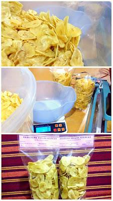 Resep keripik ceriping pisang asin renyah gurih  Resep Keripik Ceriping Pisang Asin Renyah Gurih