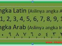 Merubah Angka Latin Menjadi Arab Di Ms Word